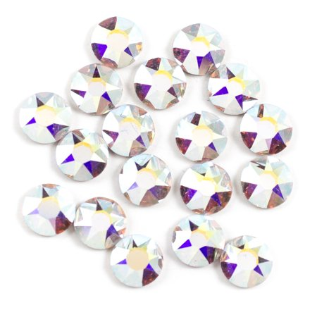 Swarovski 5mm Crystal AB Hotfix 18PC