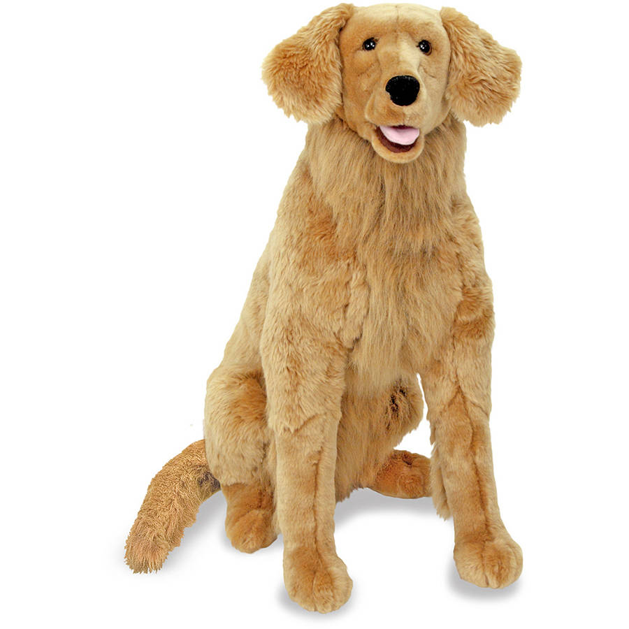 Melissa Doug Giant Golden Retriever Lifelike Stuffed Animal Dog