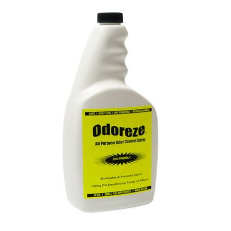 ODOREZE Natural House Odor Eliminator & Cleaner: 32 oz. Concentrate Makes 128