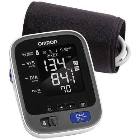 Omron 10 Series Upper Arm Blood Pressure Monitor with (Best Omron Bp Monitor)