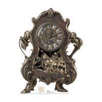 Advanced Graphics Beauty and the Beast Cogsworth Cardboard Standup