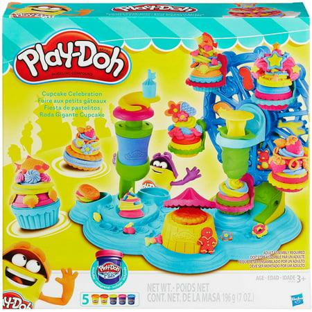 Play-Doh Cupcake Celebration Food Set
