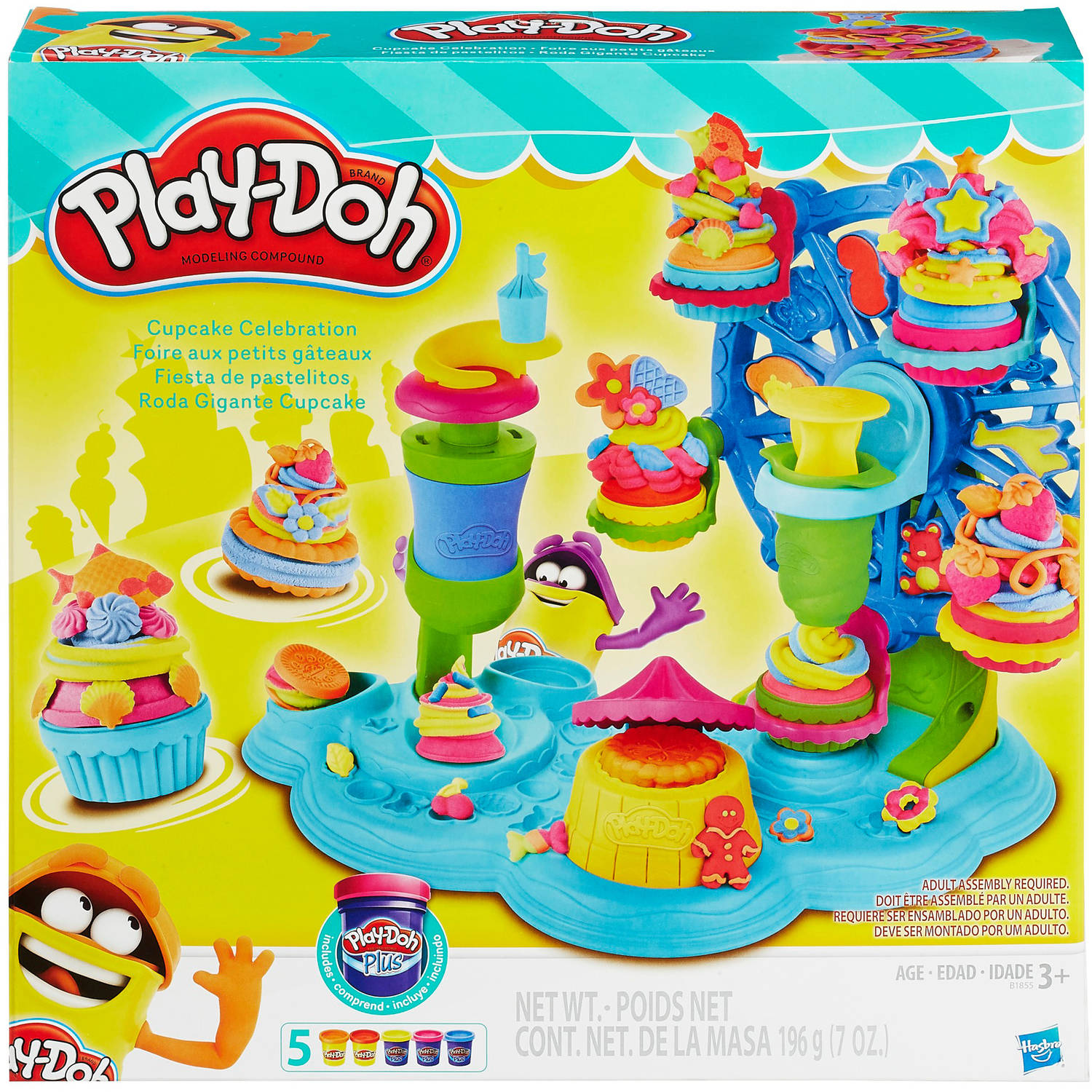 Play-Doh Cupcake Celebration Food Set