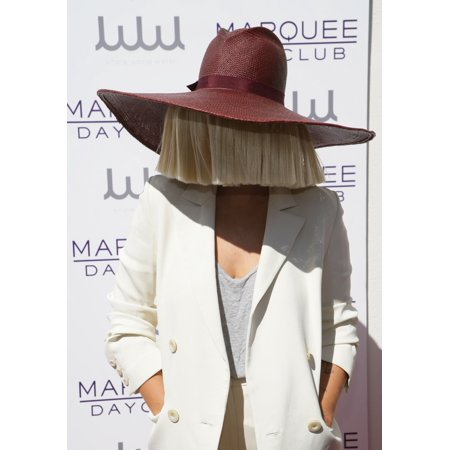 Sia At Arrivals For Kourtney Kardashian Hosts The Marquee Dayclub Season Preview Marquee Dayclub Las Vegas Nv March 21 2015 Photo By James AtoaEverett Collection Celebrity (Kourtney Kardashian Halloween)