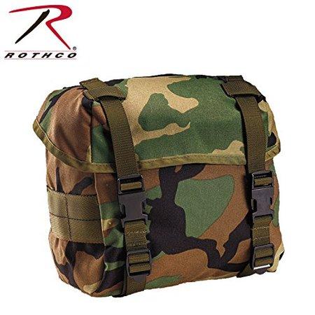 Tactical Butt Pack - Rothco Enhanced Nylon Butt Pack, Woodland Camo