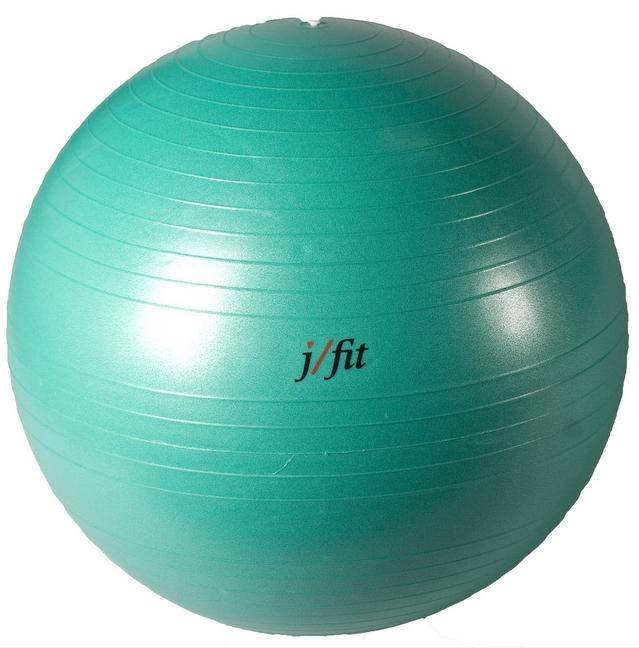 75 cm. Professional Exercise Ball w Pump in Jade Green