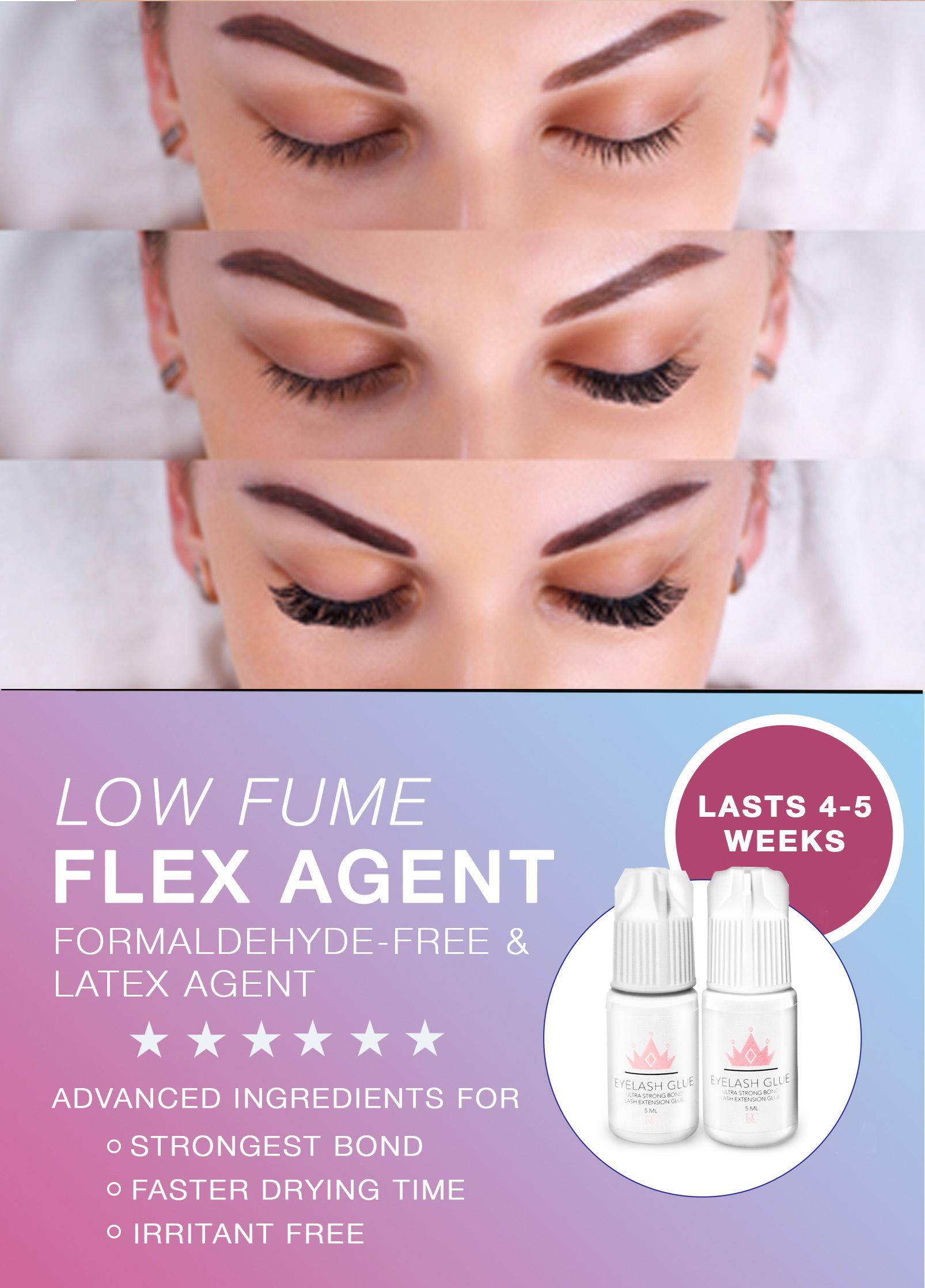 Eyelash Extension Glue Sensitive Low Fume 5 Sec Drying Time