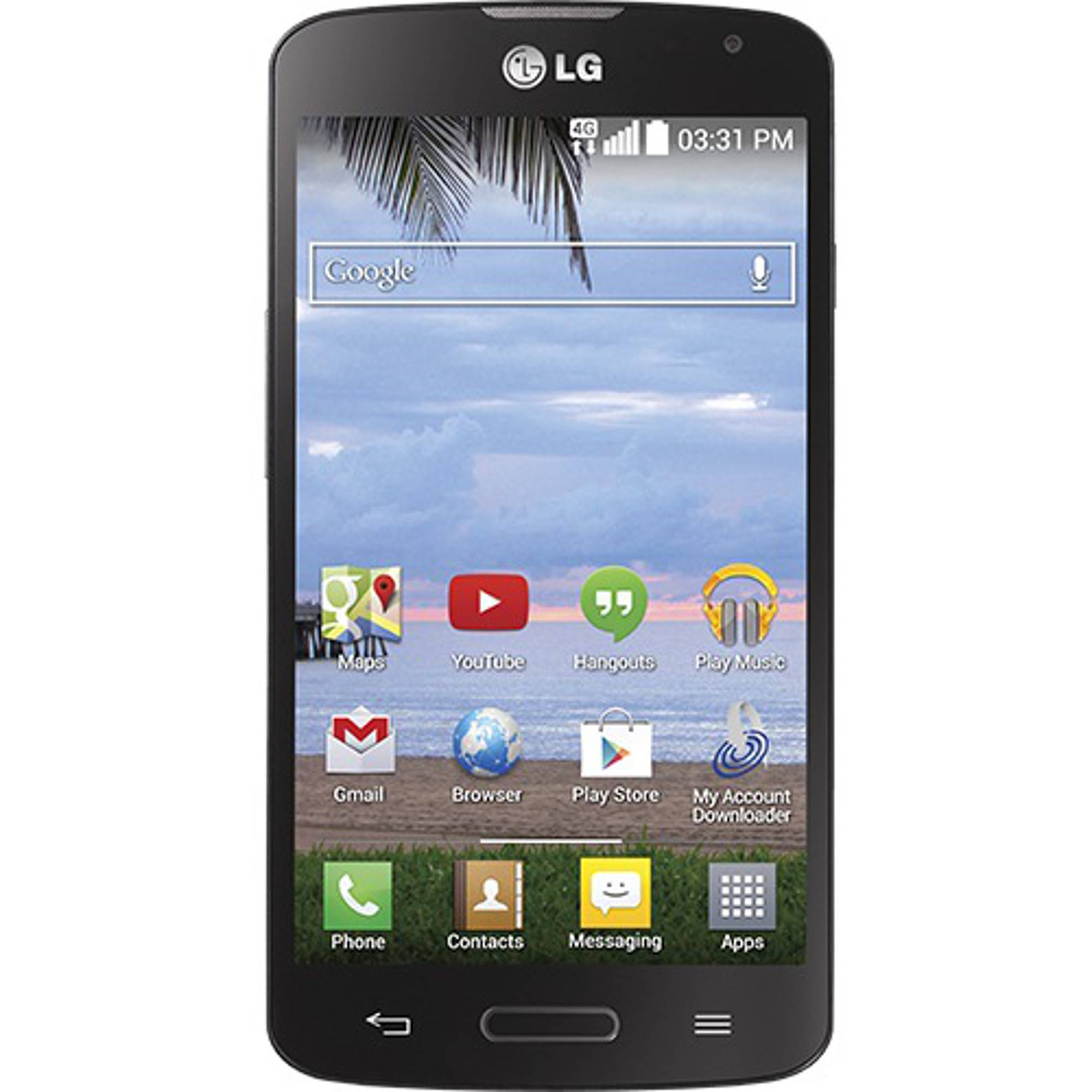 Straight Talk LG Access Android Prepaid Smartphone