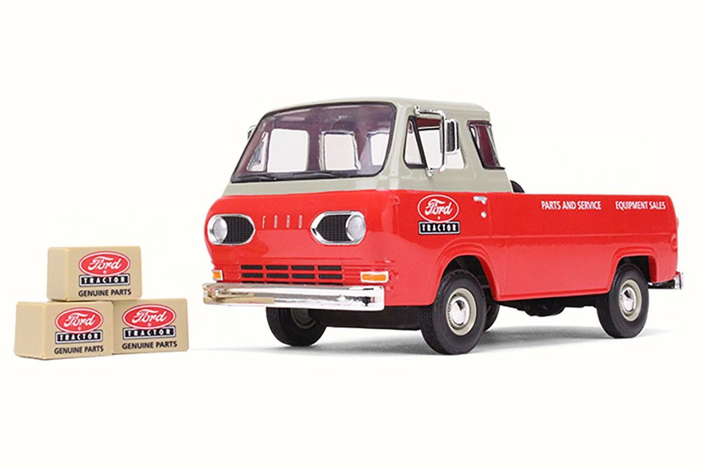 1960 Ford Tractor Parts and Service Ford Econoline Pick-Up w  Boxes, Red First Gear... by First Gear