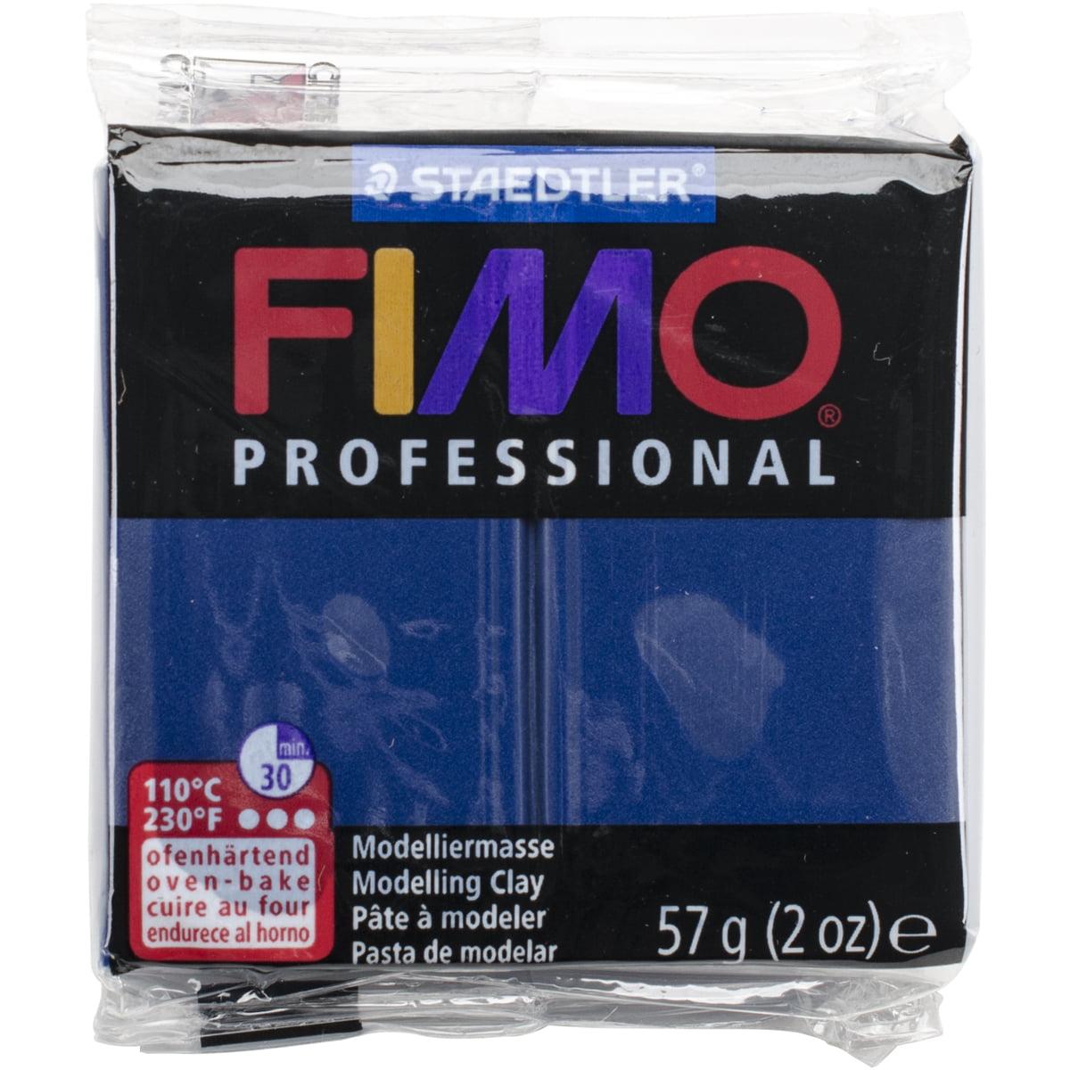 Fimo Professional Soft Polymer Clay 2oz-Navy Blue