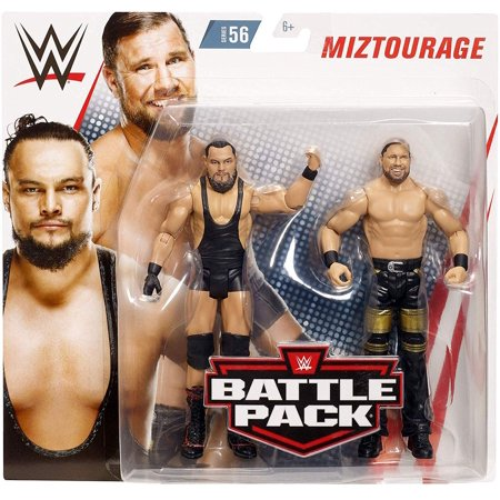 WWE Bo Dallas & Curtis Axel Miztourage Battle Pack