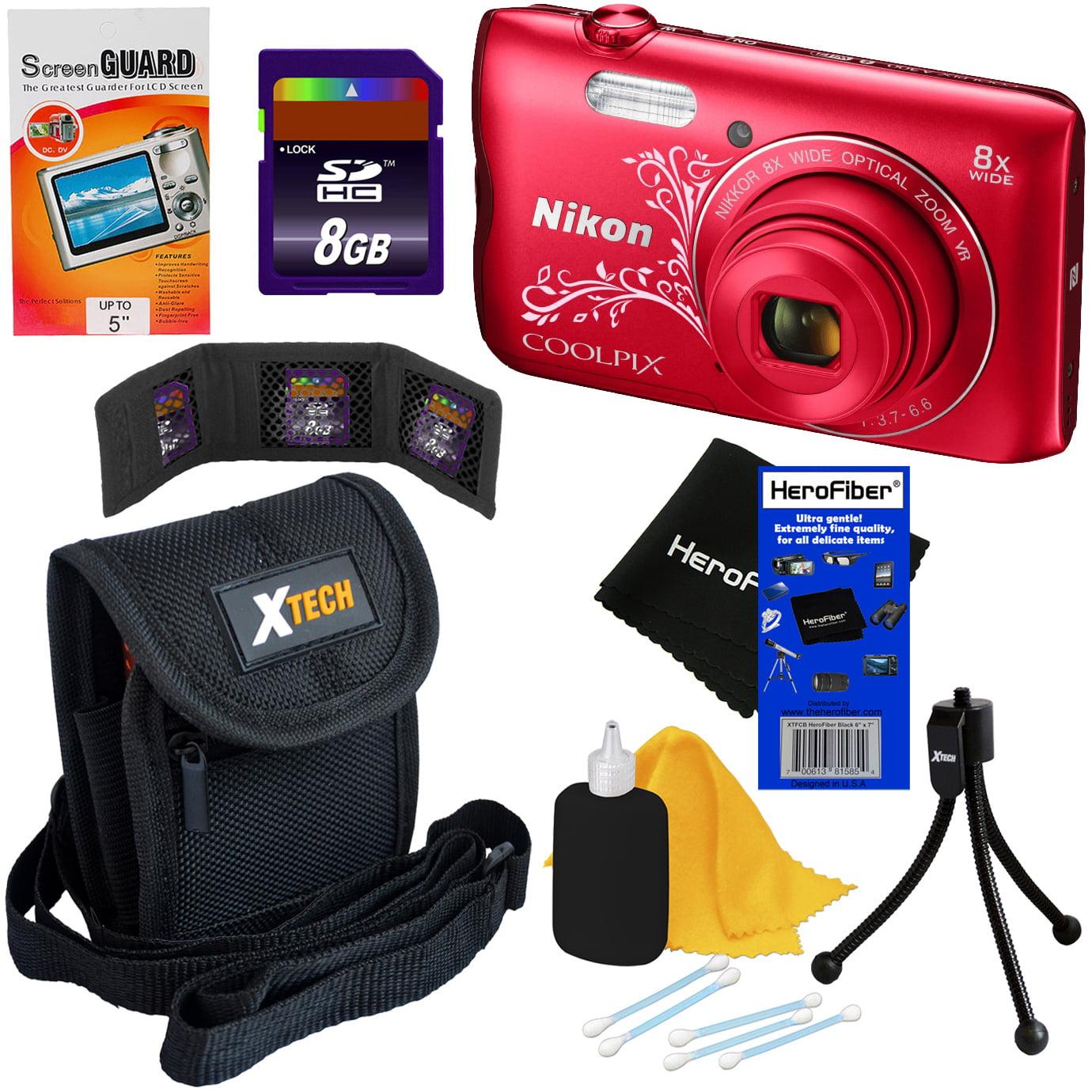 Nikon COOLPIX A300 20.1 MP Digital Camera with 8x Zoom Le...