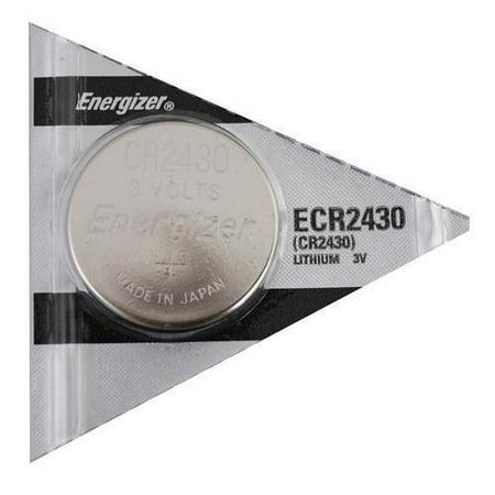 Energizer CR 2430 CR2430 ECR2430BP 3V Lithium Coin Cell Battery (Lithium Batteries Cr2430)