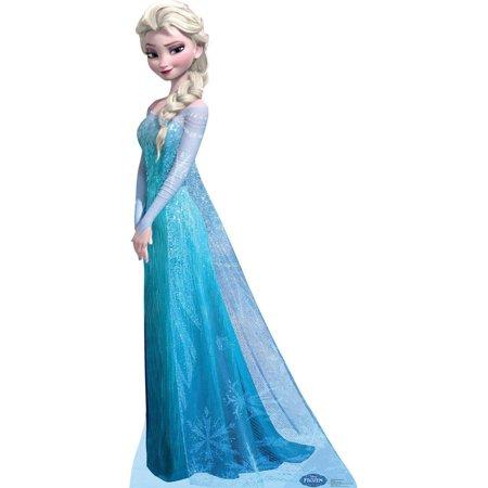 Disney Frozen Snow Queen Elsa Standup, 6' Tall