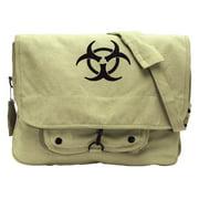 Rothco Khaki Bio-Hazard Vintage Bag, Khaki, One-Size