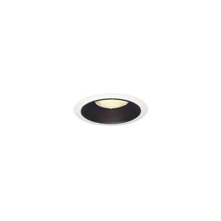 Juno Lighting Group - Juno Recessed 24 BWH  6in Recessed Trim,  Black Baffle 6 Line Voltage Trim