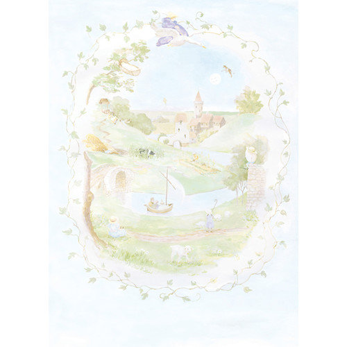 York Wallcoverings York Kids IV Nursery Land Wall Mural
