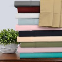 400-Thread Count 100% Egyptian Cotton Bedding Sheets & Pillowcases, 4-Piece Sheet Set by Impressions -California King