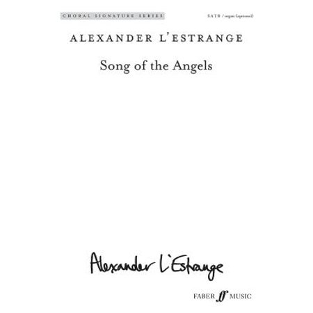 Song of the Angels : Satb (with Opt. Organ), Choral - Organ Song Halloween
