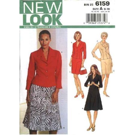 New Look 40 Misses Jacket And Skirts Size A 40140 Patterns And Fascinating New Look Patterns
