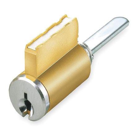 KABA ILCO 15395SC-26D-44634 Lockset Cylinder, Satin Chrome, Keyway Type