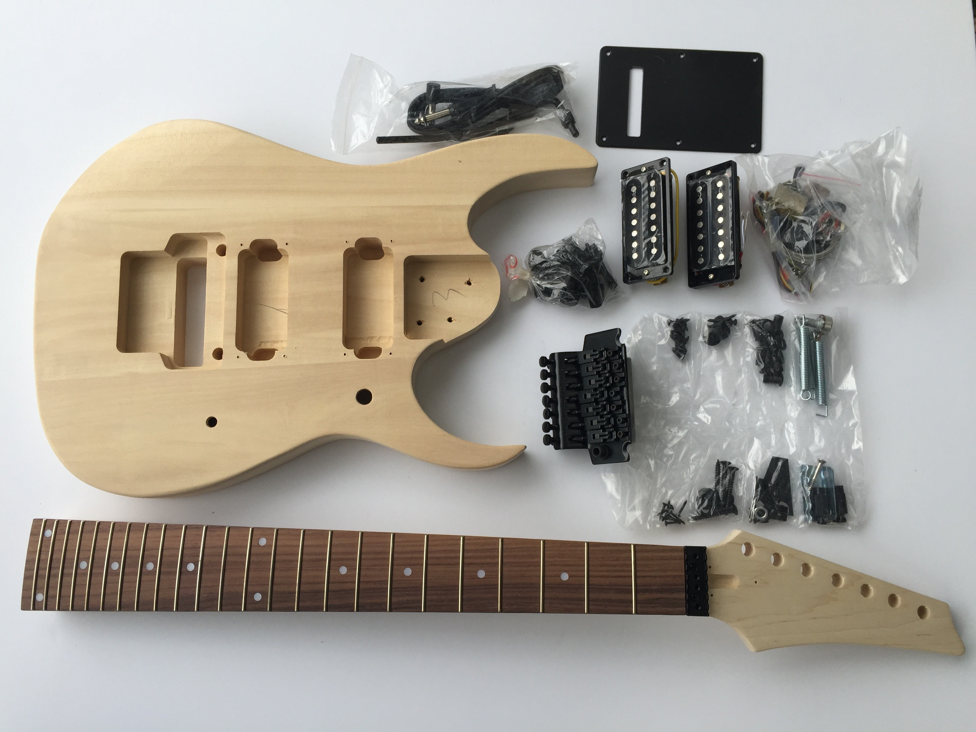 Diy Guitar Kits Electric Great Installation Of Wiring Diagram 7 String Kit Build Your Own Walmart Com Rh