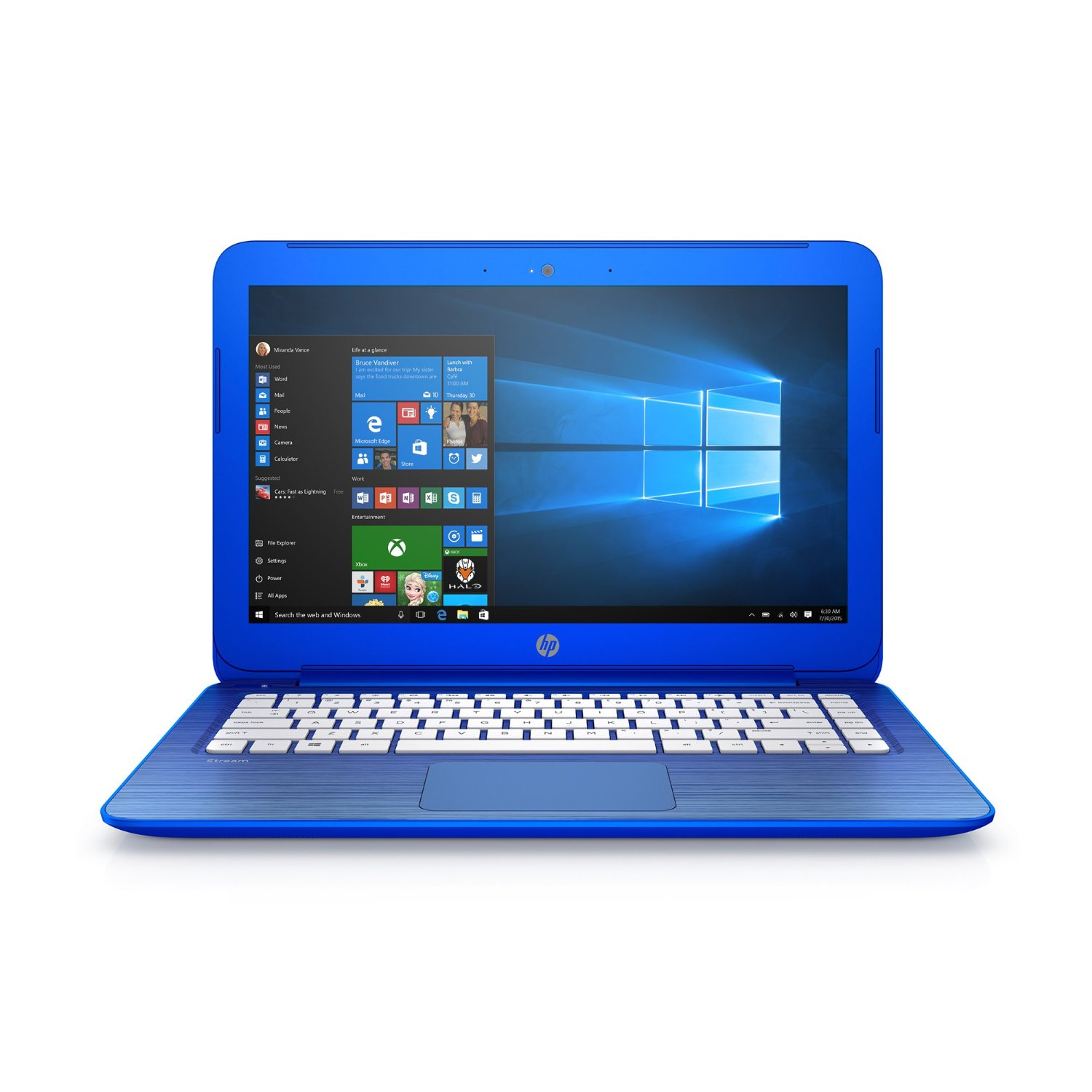 Manufacturer Refurbished - HP Stream 13-C010NR 13.3 Laptop Intel  N2840 2.16GHz 2GB 32GBeMMC Windows 10