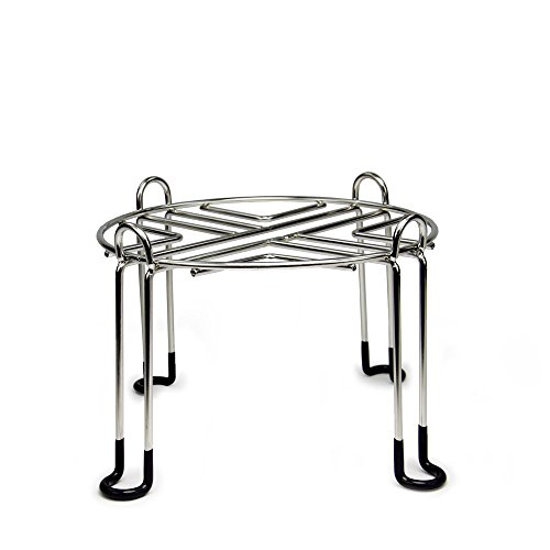 Berkey Stainless Steel Wire Stand with Rubberized Non-skid Feet for TRAVEL Berkey and Other SMALL Sized Gravity Fed Water Filter