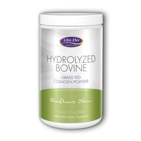 Hydrolyzed Bovine Collagen, Kosher Life Flo Health Products 12.7 oz Powder