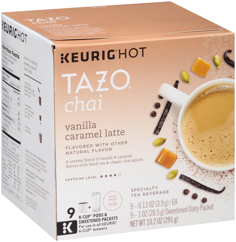 Tazo® Chai Keurig® Hot Vanilla Caramel Latte 10.2 oz. Box