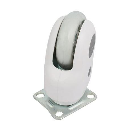 3-inch Dia Wheel Rectangle Top Plate Brake Moving Swiveling Caster Roller Kit - image 1 de 2