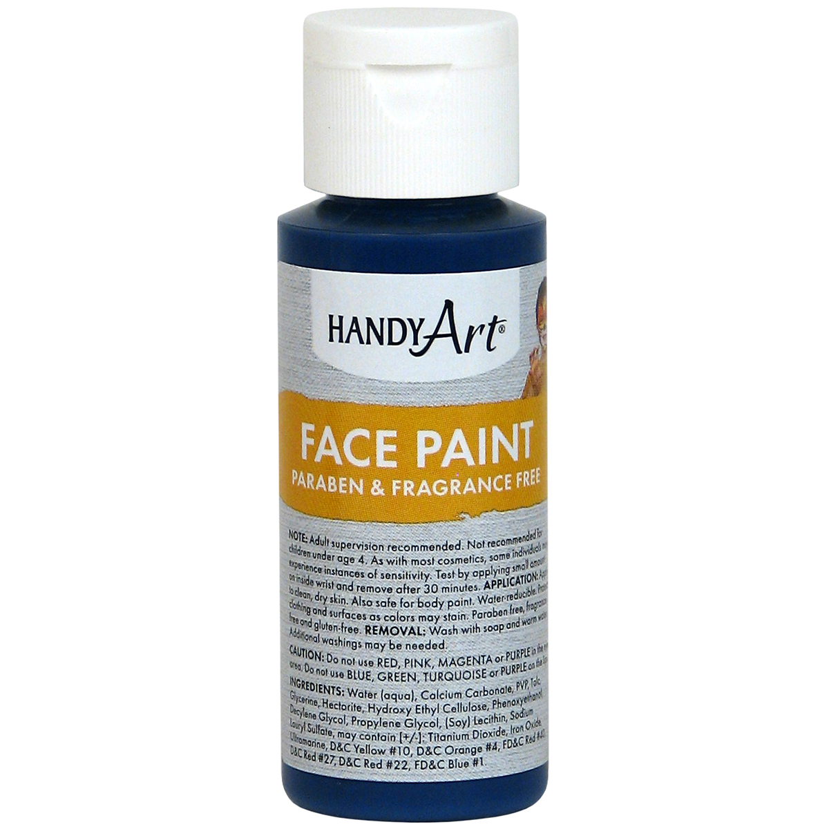 Handy Art Face Paint 2oz-Purple