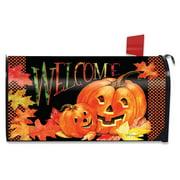 Pumpkin Pals Halloween Magnetic Mailbox Cover Jack o'Lanterns Standard
