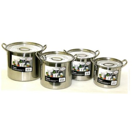Alpine cuisine 8 piece pot set for Alpine cuisine flatware