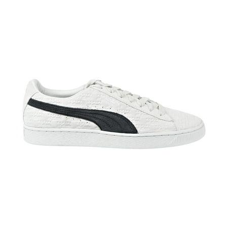 Puma Suede Classic x PANINI Men's Shoes White/Black 366323-01 ()