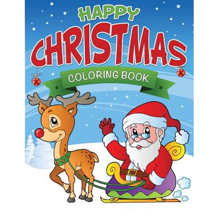Happy Christmas Coloring Book - Happy Halloween Coloring Cards