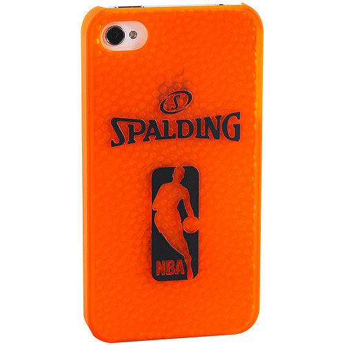 Spalding/NBA Polycarbonate iPhone 4/4S Case, Orange