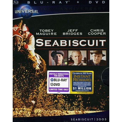Seabiscuit (Blu-ray   DVD) (Widescreen)