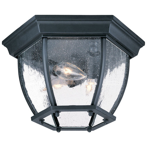 "Acclaim Lighting 5602 3 Light 11"" Width Outdoor Flushmount Ceiling Fixture"