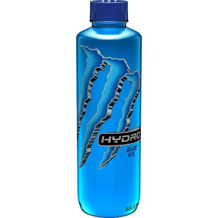 Monster Energy Hydro Sports Drink, Blue Ice, 25.5 ounce (Pack of - Honeycomb Monster