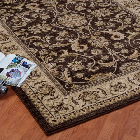 Ladole Rugs Swallowtail Medallion Traditional Style Smooth