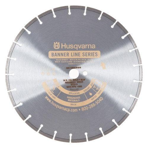 Husqvarna Gold 1 BLM Super Premium Banner Line Masonry Blades