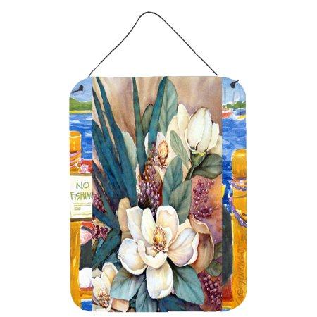 Caroline's Treasures Southern Magnolias by Jamie Carter Painting Print (Metal Magnolia)