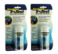 2) Aquachek 512138 TruTest Digital Reader Swimming Pool Spa Test Strips Refills