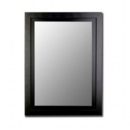 Image of 2nd Look Mirrors 258002 34x46 Black - Black Mirror