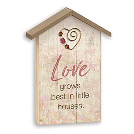 Imagine Design Home Sweet Home Plaque; Love Grows (Best Grow Room Design)