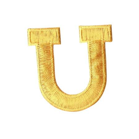 Alphabet Letter - U - Color Yellow - 2
