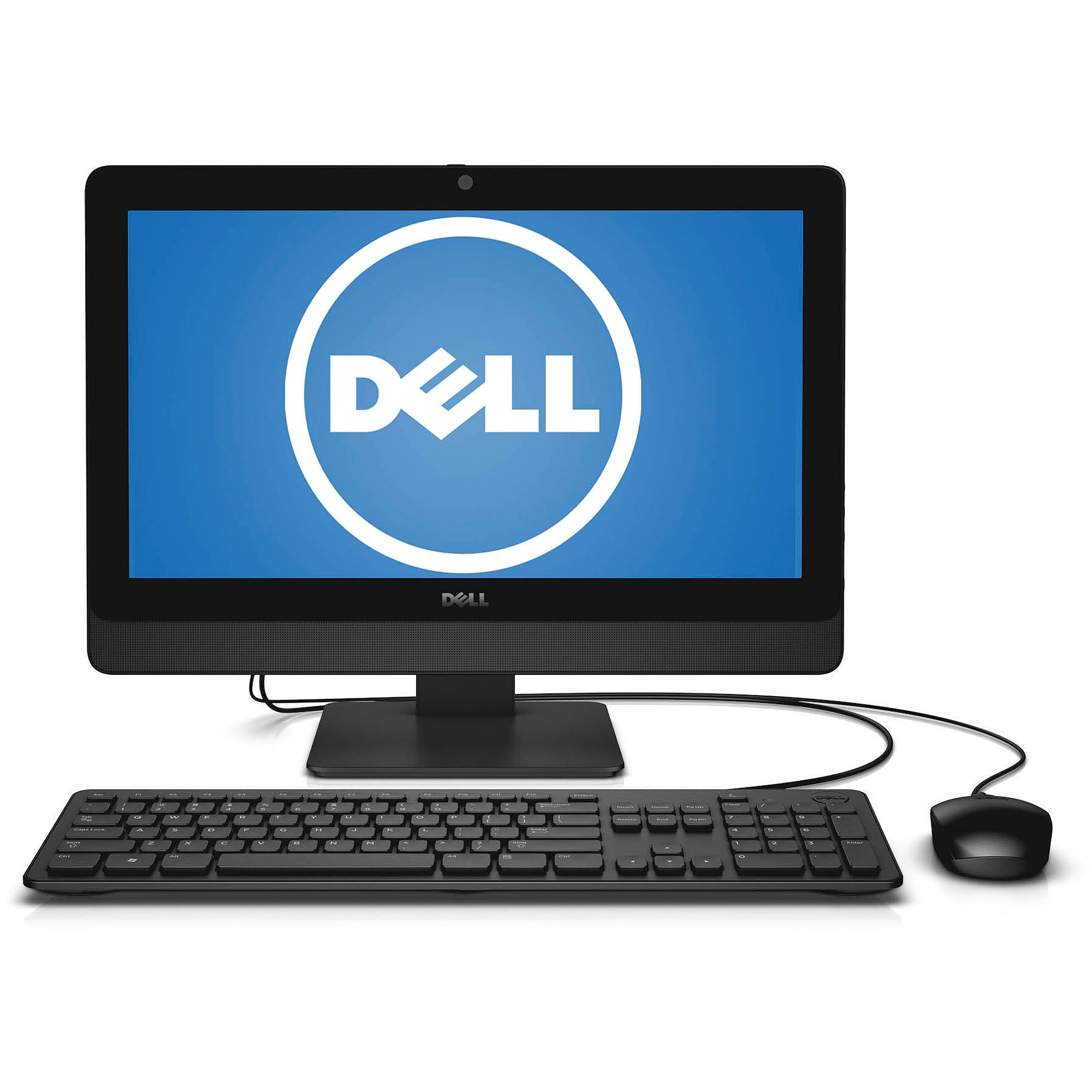 Dell Inspiron 3048 All-in-One Desktop PC with Intel Pentium G3220T Processor, 4GB Memory, 20' Touchscreen Display, 1TB Hard Drive and Windows 8.1