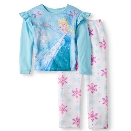 Girl's 2 Piece Frozen Pajama Sleep Set (Big Girls & Little Girls)