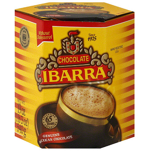 Ibarra Genuine Mexican Chocolate, 19 oz, (Pack of 12)